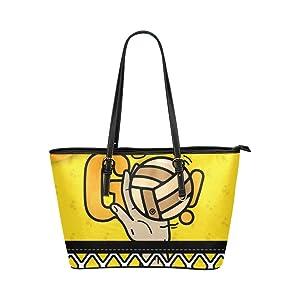 Women's Leather Large Tote HandBag Let's Go Shoulder Bag