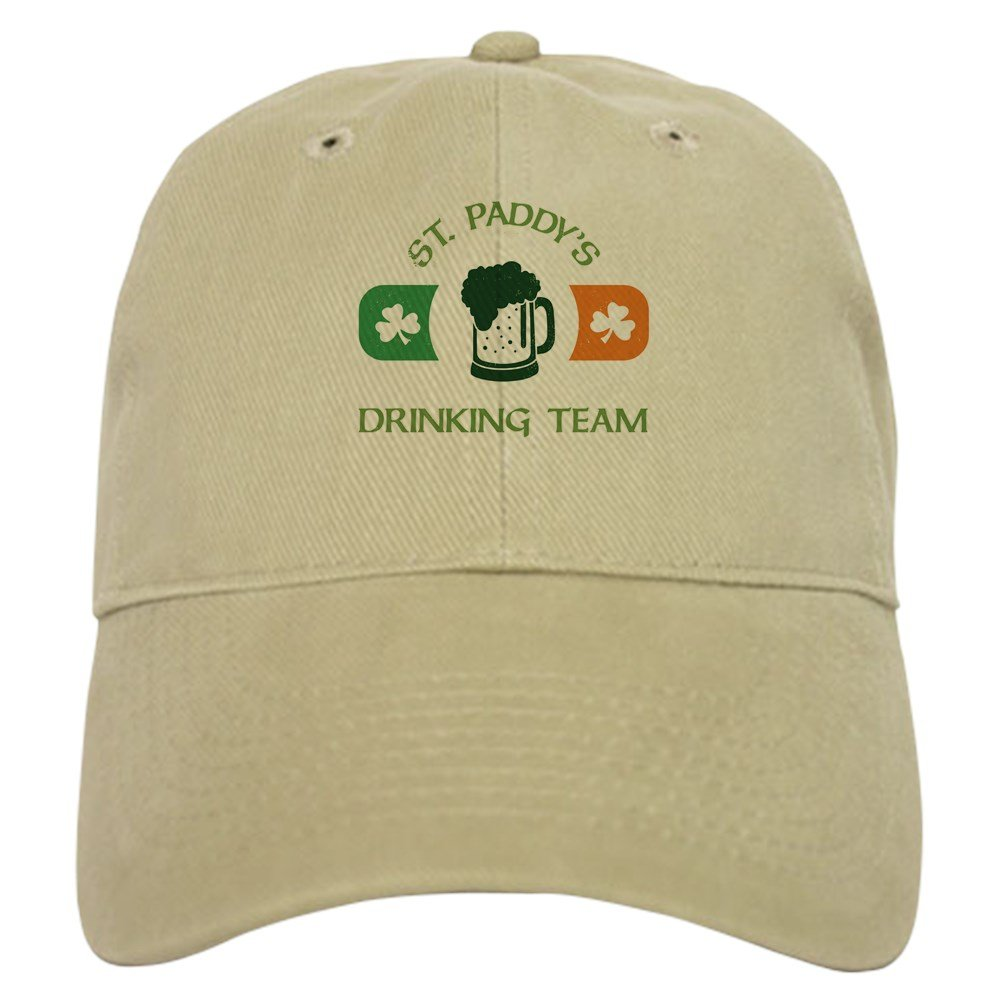 4ab647437 Amazon.com: CafePress St. Paddy's Drinking Team Baseball Cap with ...
