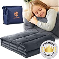 BoxLegend Premium Weighted Blanket for Kids 7lbs