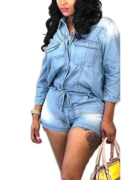 alkuun tuotemerkkejä ostaa halpaa muoti tyylejä Amazon.com: Desirepath Women's Sexy Front Zipper Blue Jeans ...