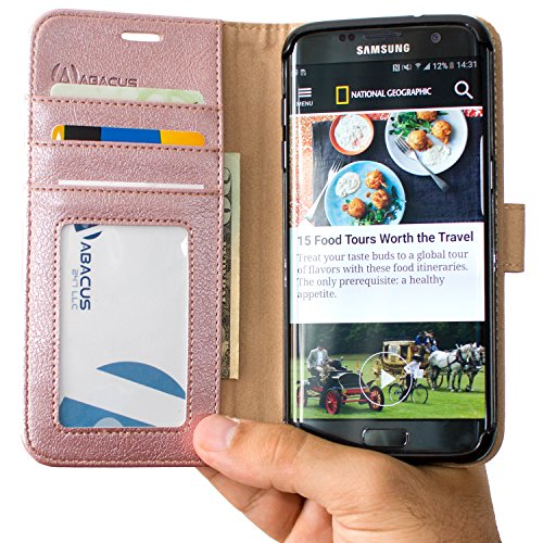 Abacus24 7 Synthetic Leather Wallet Samsung product image