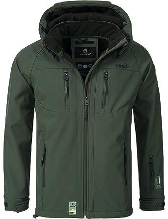 Marikoo Herren Softshell Jacke Outdoorjacke NOAA 6 Farben S 4XL