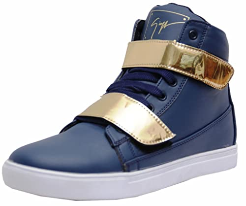 Sneakers Gold-G-Blue Shoes