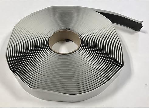 GSSI Sealants Butyl Tape 1//8 x 1 x 50 Black