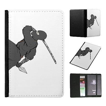 Amazon.com | Ninja Ninjutsu Martial Arts 3 Flip Wallet ...