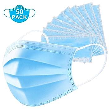 50pcs disposable earloop face mask