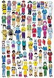 Boy Felt Dolls - Set of Four with extra clothes - Kit