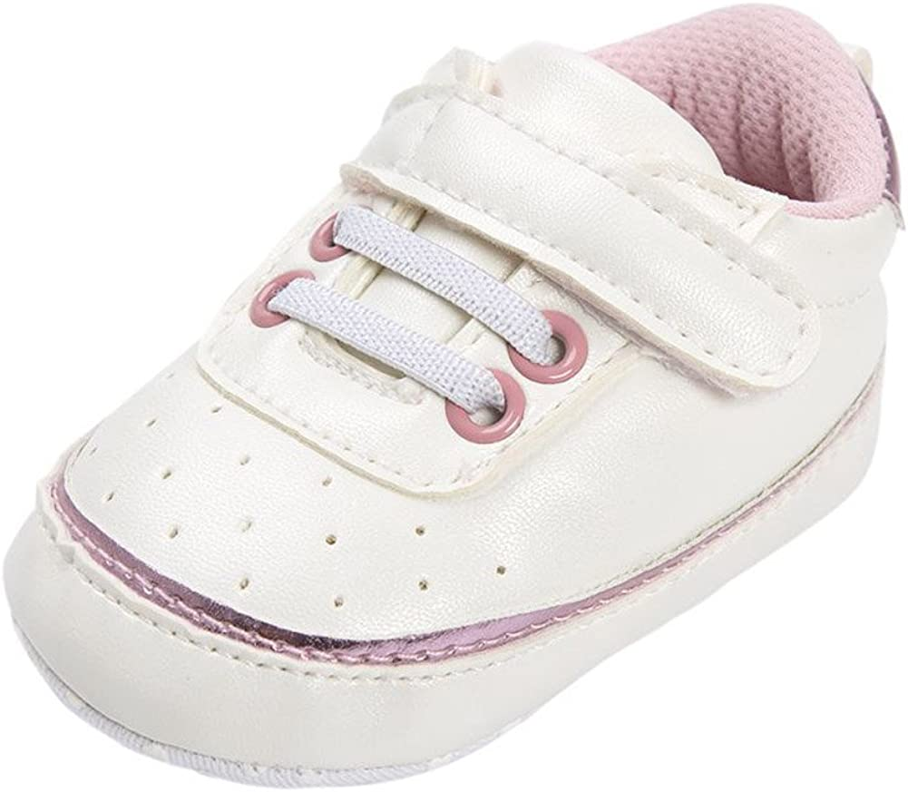 Weixinbuy Newborn Baby Boys Soft Soled Non-Slip High Top Casual Sneakers Shoes