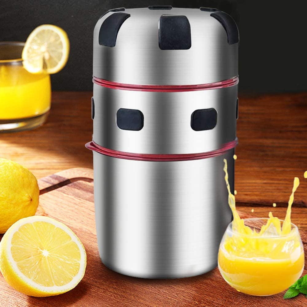 Manueller Orangen-Zitronen-Entsafter Hand Fruit Juicer Manual Juicer Stainless Steel Manual Squeezer