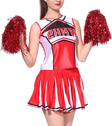 Yiliankeji Disfraz Animadora Adulto School - Cheerleading Disfraz ...
