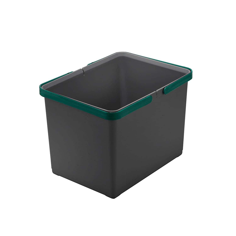 Elletipi Cover Box Secchio con Manico per Pattumiere Ecofil H22, Grigio elletipi Srl PTM SG 22 C97 M43