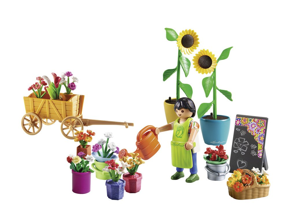 Playmobil Florist Building Set...