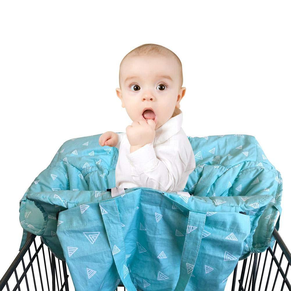 supermercato cuscino copertura sedia alta misura Carretto portatile 2-in-1 carrello della drogheria del bambino Seat e seggiolone copre la sedia Pad Tappetino protettivo auto Safety Seat Travel