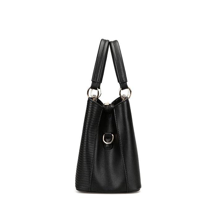 Fashion Trend Damen Damen Gestreiften Frauen Schulter Diagonal Cross Bag,LightGray-OneSize BFMEI