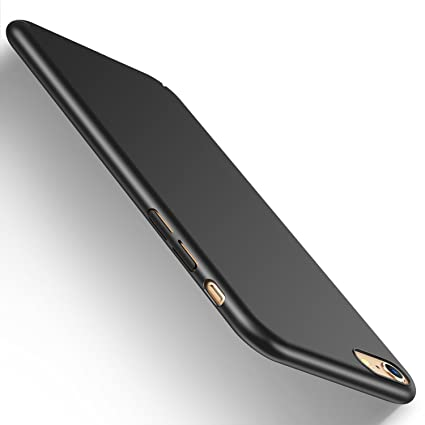 super popular 42fa3 ba204 iPhone 6 Case, iPhone 6s Case, HUMIXX Sleek Ultra-Thin Anti-Scratch Hard  Plastic Case for Apple iPhone 6 / iPhone 6s [3nd Generation] (Black)