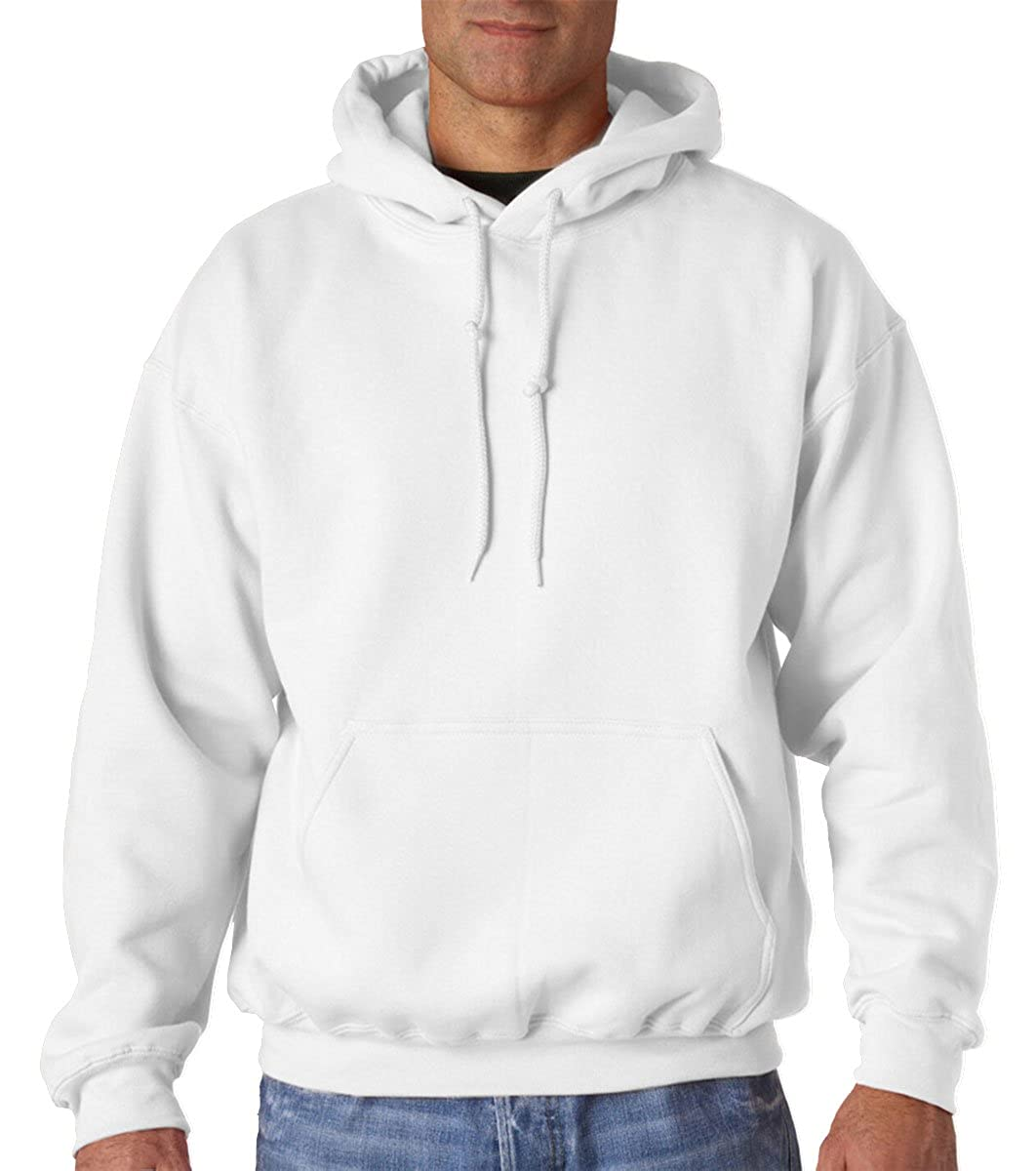 Gildan 9.3 oz Pullover Hooded Sweatshirt (12500) at Amazon Men's ...