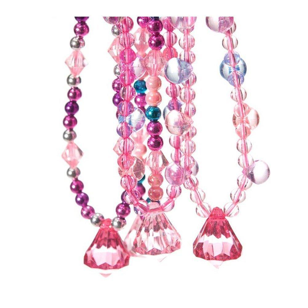 Amazon.com: U.S. Toy Dozen Princess Jewel Necklaces by US Toy Toy ...
