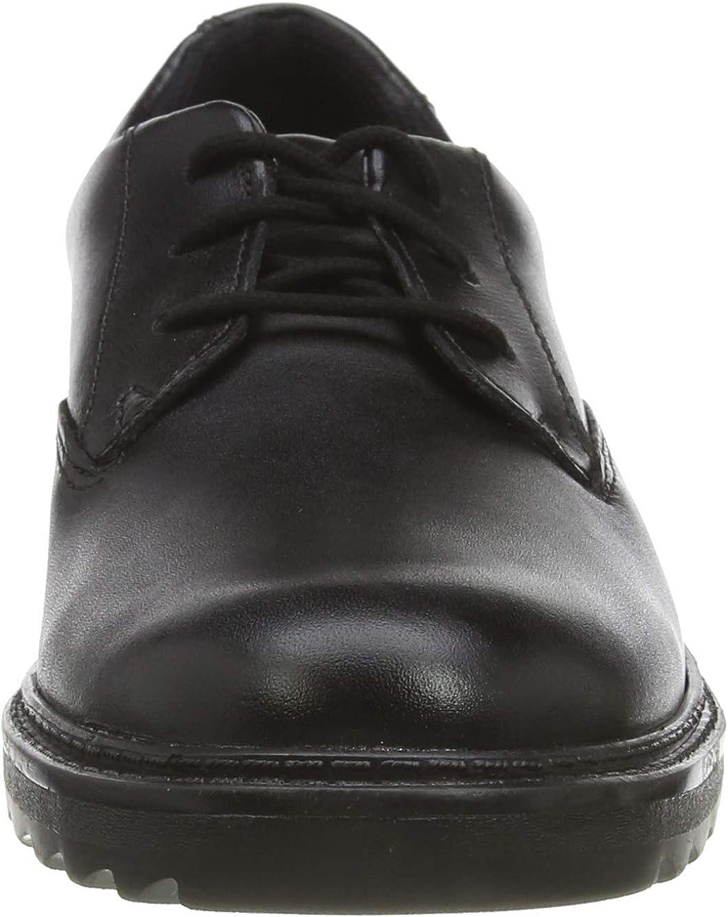 Derbys gar/çon 40 EU Clarks Asher Jazz Y Noir Black Leather Black Leather