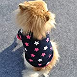 Dog Clothes - dog clothes for small dogs winter vest Dog jackets Pet Product Cat Clothing Soft Padded Vest small dog clothes roupa de cachorro - Small Dog Clothes (M)