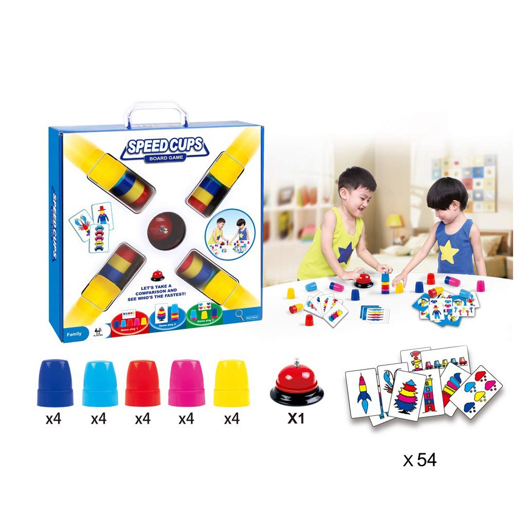 Amazon com: Cup Stacking Game for Kids,Speed Cups Game Speed