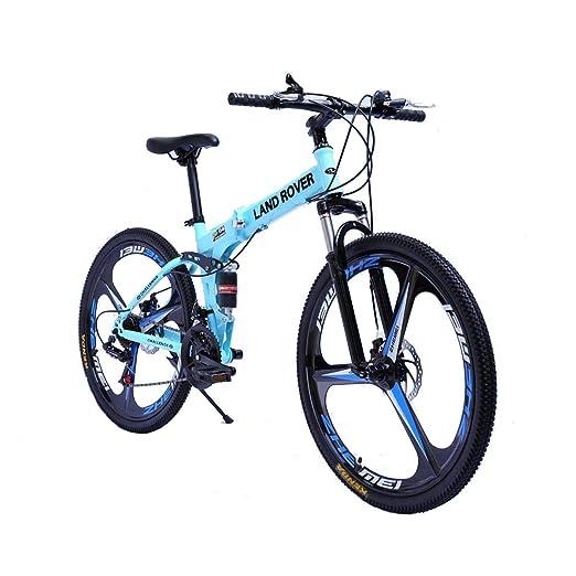 KOSGK Bicicletas para Hombres Bicicleta MontañA Foiding con Cuadro ...