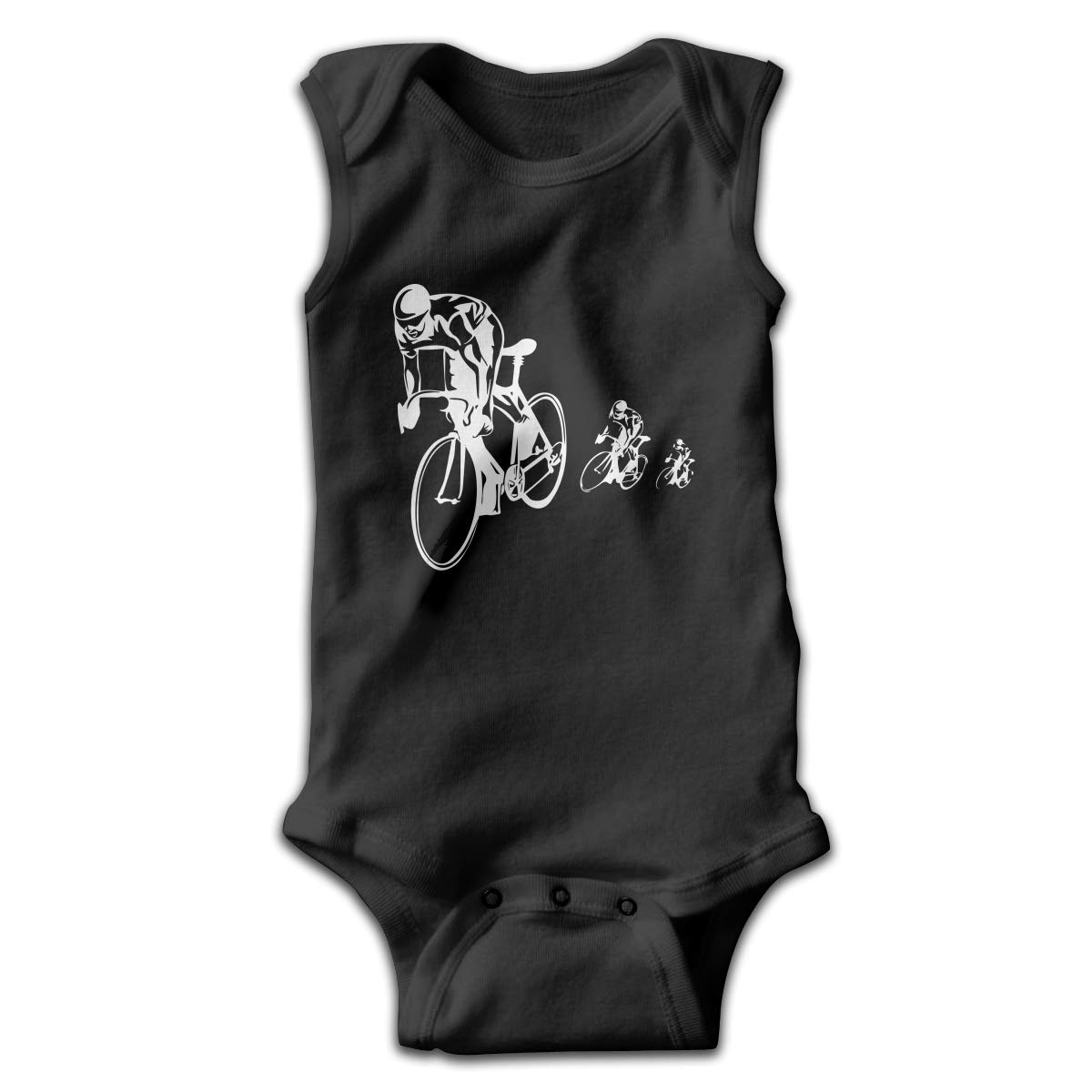 Bicycle Racing Cycling Baby Boys Girls Infant Crawling Suit Sleeveless Romper Jumpsuit