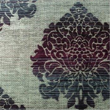 Amazon.com: Multicolor Ombre Baroque Floral Chenille Home Decorating ...