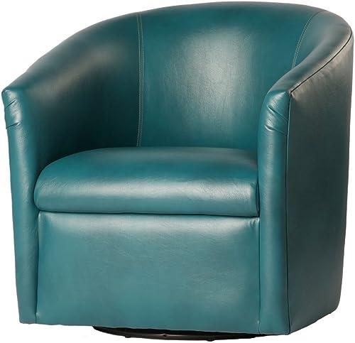 Comfort Pointe Agean Draper Swivel Chair