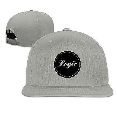 Mens Unisex Logic Logo Rapper Rock Cap Cool Strapback Hat