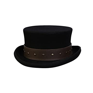 dffdbc21806f0 Conner Hats Men s Rocky Road Steampunk Top Hat at Amazon Men s ...
