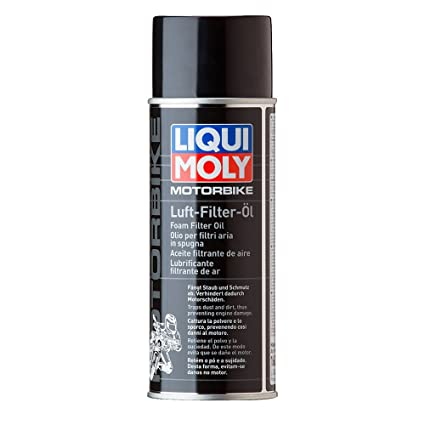 Liqui Moly 1604 Aceite Filtrante de Aire, Spray, 400 ml: Amazon.es ...