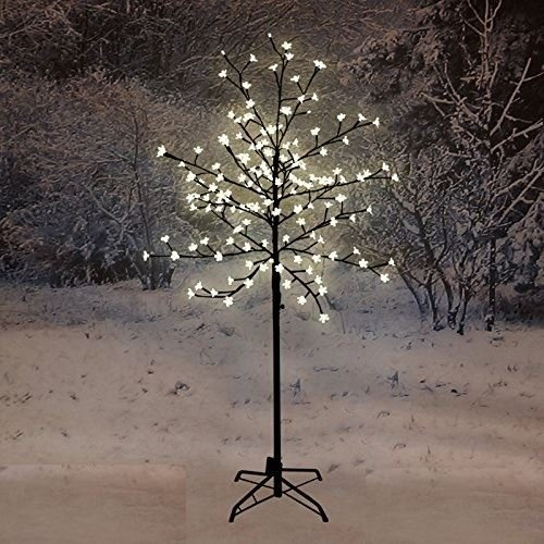 120CM LED BLOSSOM TREE WARM WHITE INDOOR OUTDOOR DECORATION XMAS CHRISTMAS NEW Nigma®