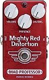 Mad Professor マッドプロフェッサー エフェクター ディストーション Mighty Red Distortion ハンドワイヤード 【国内正規品】