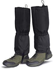 Unigear Leg Gaiters Waterproof Boot Gaiters with Zipper for Hiking Hunting Climbing Snowing for Men and Women