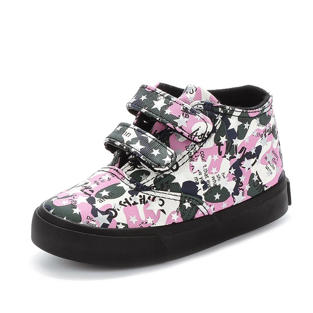 U-MAC Kids Shoes Boys & Girls Sneakers High-Top Rubber Sole Winter Warm Shoes(Toddler/Little Kid/Big Kid)
