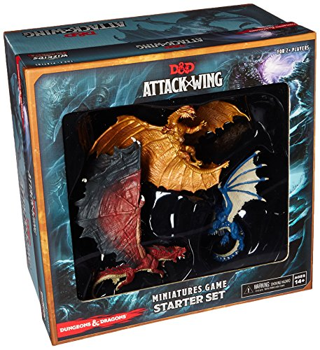 Couple Mini Bronze Figure - D&D Attack Wing: Starter Set