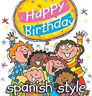 Happy Birthday - Spanish Music Style