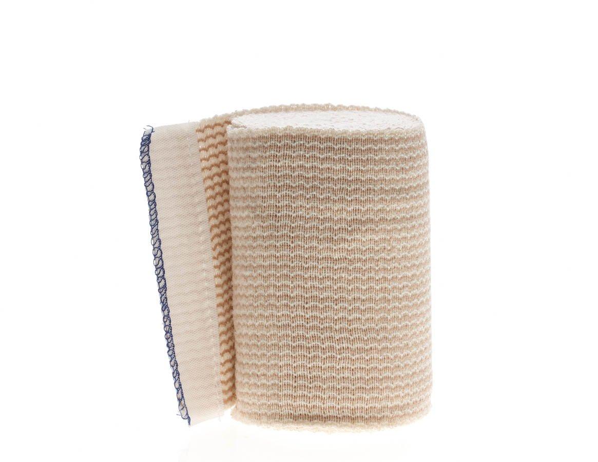 Medline DYNJ05155LF Matrix Elastic Bandages, Latex Free, Sterile, 4'' x 10 yard, White/Beige (Pack of 20)