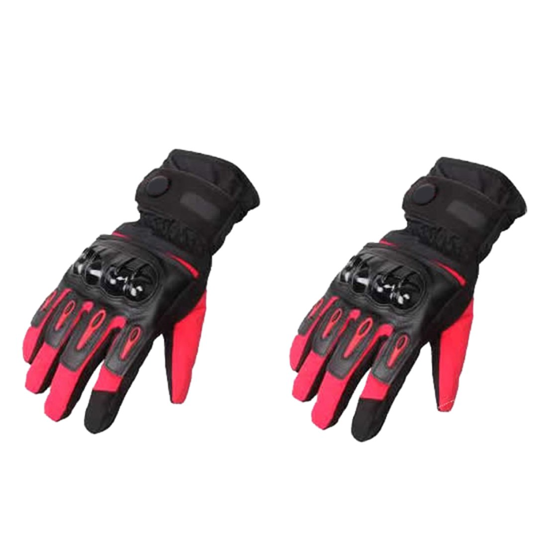 LLFS Motorcycle Gloves Biker Cowhide Leather Motorbike Motorcycle Heavy Duty Waterproof Gloves Collection Winter Leather Gloves