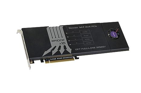 Sonnet Tarjeta PCIe Sonnet Fusion SSD M.2 4x4 [Compatible ...
