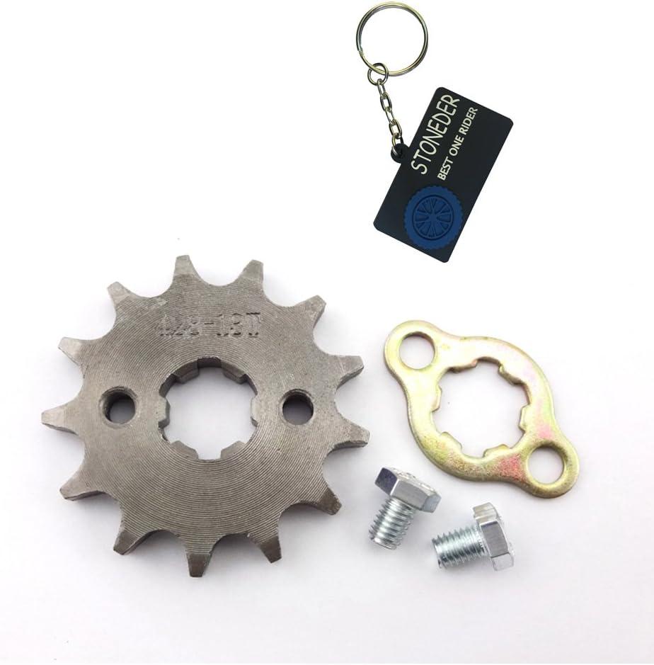 Stoneder 420/18/denti 17/mm anteriore ruota dentata Gear 50/cc 70/cc 90/cc 110/cc 125/cc 140/CC 150/cc 160/CC motore ATV Quad Pit Bike Dirt Trail