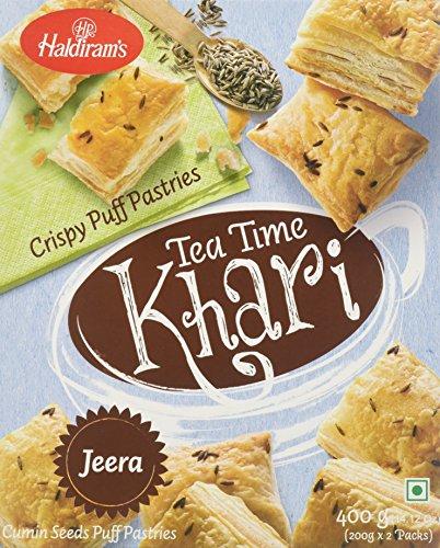 Haldirams, Tea Time Jeera Khari, 400 Grams(gm)