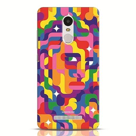 premium selection bb662 2f60c Now Oye Xiaomi Redmi Note 3 Facial Mystique Back Cover: Amazon.in ...