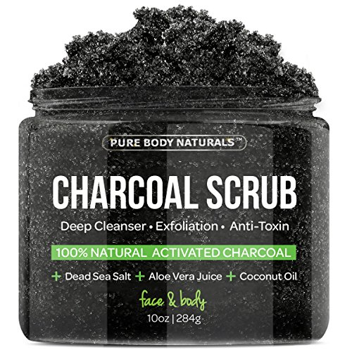 activated charcoal scrub face