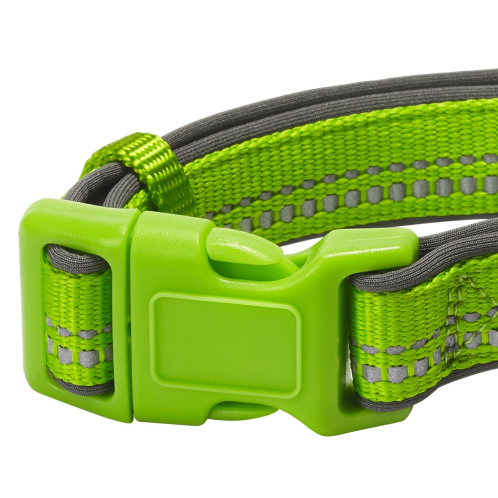 Harnesses or Leashes Blueberry Pet 6 Colors Soft /& Comfy 3M Reflective Pastel Color Dog Collars