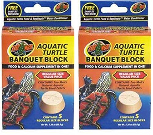 Image of Zoo Med Block Value Pack for Aquatic Turtle (2 Pack)