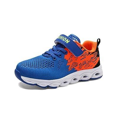 YIBLBOX Kids Girls Boys Running Shoes Comfortable Fashion Light Weight Trainer