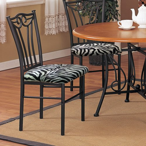 Zebra Accent Chair - 9