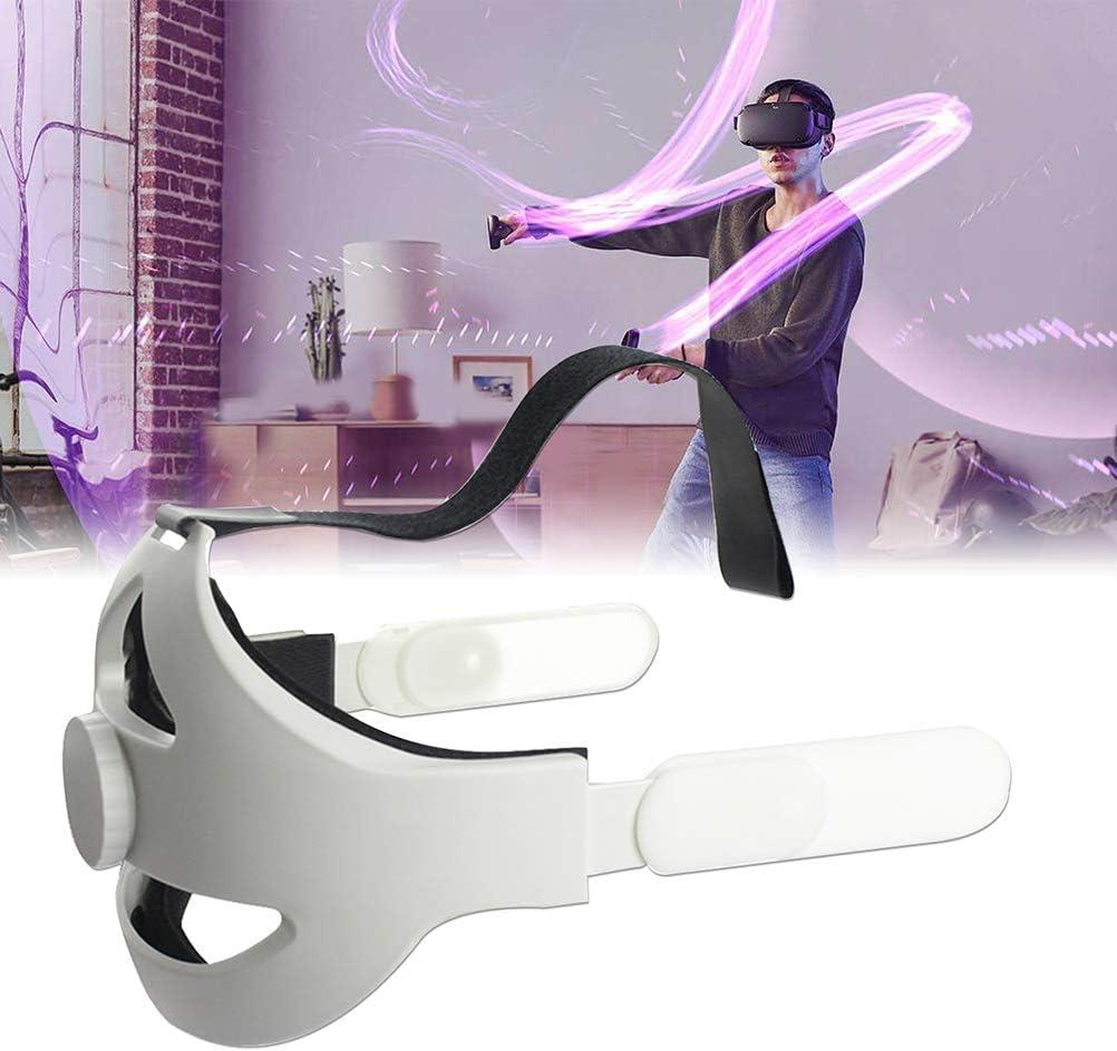Ajustable para Oculus Quest 2 Head Strap VR Headband Aumente el Soporte Mejore la Comodidad-Correa de Acceso de Realidad Virtual