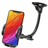 Mpow Auto Handyhalterung, Kfz handyhalterung auto, kfz smartphone halterung,Windschutzscheibe Handyhalter Langer Arm KFZ Telefon handyHalter für auto für iPhoneX / 8 / 8Plus / 7 / 6S / 6 Plus / 5S / 5, Samsung Galaxy Note9 S9 S7 S6 S5, Nexus 5X / 6P, LG, HTC und Mehr